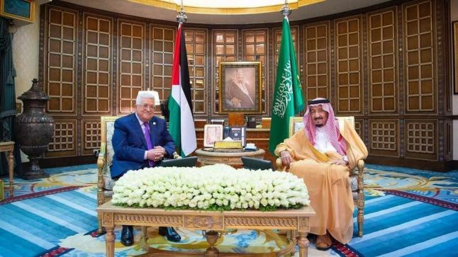 العاهل السعودي يؤكد دعم المملكة لإقامة دولة فلسطينية مستقلة وعاصمتها القدس الشرقية